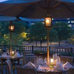 Outdoor Dining at Tarrytown Sheraton