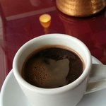 Wonderful Turkish Coffee at Holy Land Cafe