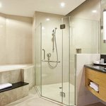Complete bathroom amenities ensure a worry-free stay