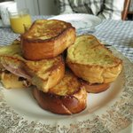 Ham & Cheese French Toast
