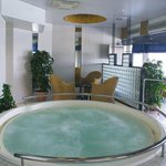 Relax in a Whirlpool at our Sauna Floor
