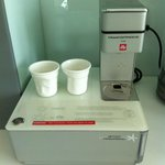 In-room espresso coffee maker