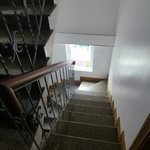 The stairs are narrow, but choose a lower floor if you have problems with stairs