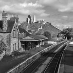 Corfe Castle Train Station