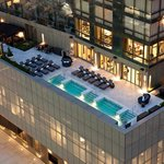 Trump SoHo Exterior With Pool Deck