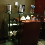 complimentary water and tea/coffee-making facilities