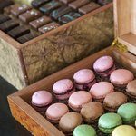 Macaroons and choccies