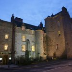 The Dornoch Castle Hotel early evening
