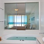 Beachfront Apartment Bathroom