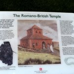 Information point for the Romano-British Temple