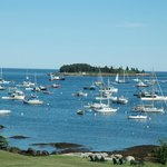 View from East Wind Inn, Tenants Harbor, Maine