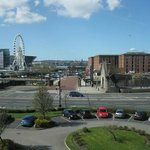 View from 3rd floor room Ibis Liverpool