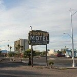 Motel Sign Front View Of Property