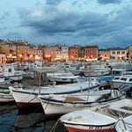 Rovinj in evening