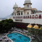 Swimming Pool at Shiv Niwas Palace
