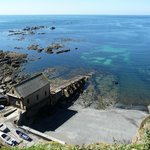 Abandoned Life Boat Station at Lizard Point