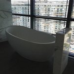 The tub in the Wow Suite