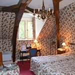 Wonderful room under ancient eaves