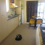 One bedroom ensuite villa - 4 berth