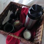 morning coffee basket (arrives pre-breakfast)