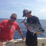 One of the many tuna we caught that day