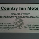Foto de Country Inn Motel