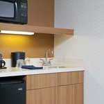 Kitchenette in every room/suite
