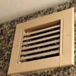 Air vent in shower