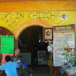 Cafeteria in Chiich Foto