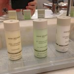 Complimentary quality toiletries