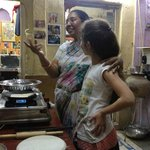 9 year old loved Rekha's cookery lesson