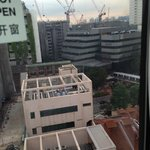 View from window is all just contruction sites