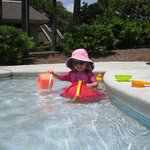Kiddie pool, nice depth