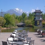 Outdoor dining with a view - Pullman Lijiang