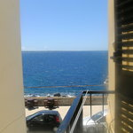 "vista mare dal balconcino camera ""Double room"""