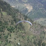 Paragladding at solang valley