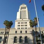 L.A. City Hall is walking distance from hotel