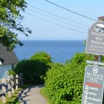One entrance to The Marginal Way