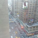 View from our room on 16th Floor, looking down 7th Avenue