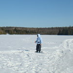 Beautiful day for ice fishing!