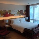 Very comfortable room at Glow Pratunum. It's like at Home!