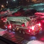 firetruck and very loud fire alarm at 4:50 AM 2/10/13
