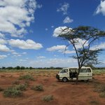 Lunch break near Amboseli