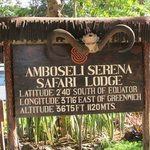 Welcome to Amboseli Serena Safari Lodge