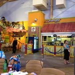 Dining option at the water park itself - A&W and Pizza Hut