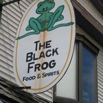 Foto van The Black Frog