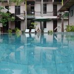 The pool at Hoi An Garden Villas
