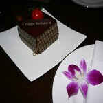 Birthday-Cake from Hotel
