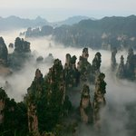 AVATAR Mountain in Zhangjiajie National Forest Park