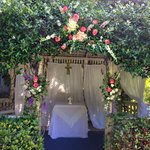 June 1st Gazebo Wedding